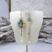 orecchini frammento ceramica gioielli di calabria